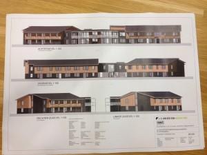 Huidig ontwerp zorgcomplex (mei 2015)